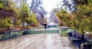 Città di Almaty Immagine Stock Libera da Diritti