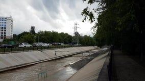 Città di Almaty stock footage