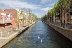 Città di Almere, la più nuova città nei Paesi Bassi Fotografia Stock