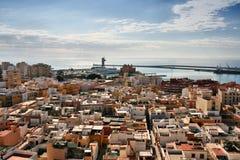 Città di Almeria, Spagna Fotografia Stock Libera da Diritti