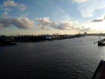 Città di Amburgo immagini stock