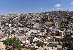 Città di Amman, Giordania fotografie stock