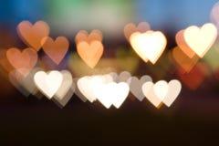 Città di amore Immagine Stock