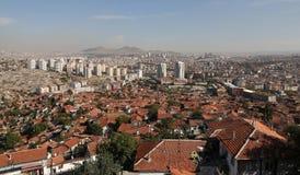 Città di Ankara in Turchia Fotografia Stock Libera da Diritti