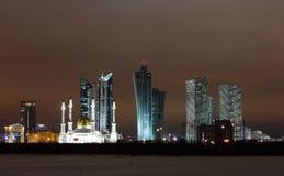 Città di Astana fotografia stock libera da diritti