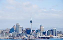 Città di Auckland, Nuova Zelanda Fotografie Stock Libere da Diritti