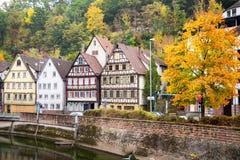 Città di Autumn Calw in Germania immagine stock libera da diritti
