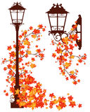 Città di autunno Fotografie Stock