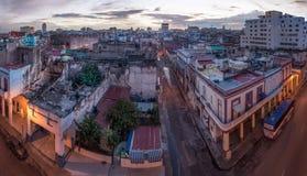 Città di Avana all'alba Fotografie Stock