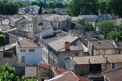 Città di Avignone, Francia Fotografia Stock