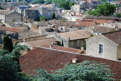 Città di Avignone, Francia Fotografie Stock Libere da Diritti