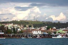 Città di Ayvalik Fotografia Stock Libera da Diritti