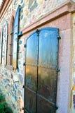 Città di Ayvalik, vecchie vie in Cunda Fotografie Stock Libere da Diritti
