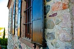 Città di Ayvalik, vecchie vie in Cunda Immagine Stock Libera da Diritti