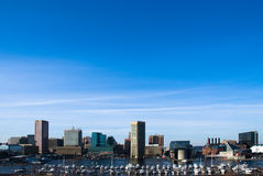 Città di Baltimora immagine stock