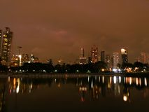 Città di Bangkok Immagini Stock