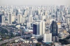 Città di Bangkok Fotografie Stock