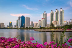 Città di Bangkok Immagine Stock