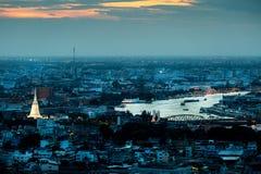Città di Bangkok Fotografia Stock