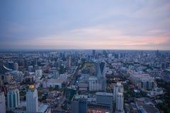 Città di Bangkok Fotografie Stock Libere da Diritti