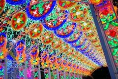 Città di Bangkok di indicatore luminoso Immagine Stock