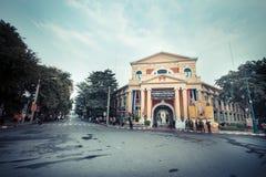 Città di Bangkok - 29 novembre: Comando territoriale della difesa con i soldati Fotografia Stock