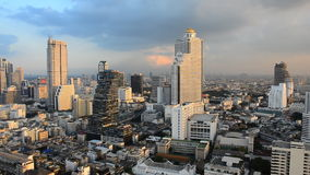 Città di Bangkok, Tailandia archivi video