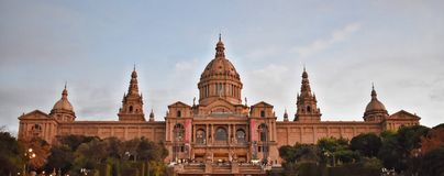 Città di Barcellona - la Spagna - Europa fotografie stock