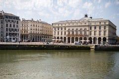 Città di Bayonne Francia fotografia stock