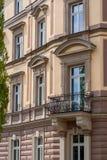 Città di Bayreuth del vecchio balcone d'acciaio vecchia fotografie stock