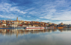 Città di Belgrado Fotografie Stock Libere da Diritti