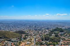 Città di Belo Horizonte Fotografia Stock Libera da Diritti