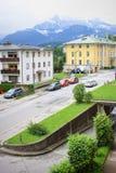 Città di Berchtesgaden in Germania Immagine Stock