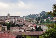 Città di Bergamo.High Fotografia Stock Libera da Diritti