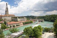 Città di Berna Immagini Stock Libere da Diritti
