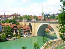 Città di Berna Fotografia Stock Libera da Diritti