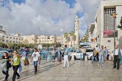 Città di Betlemme palestine Fotografia Stock