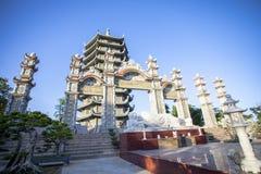 Città di Binh Duong, Vietnam Fotografia Stock Libera da Diritti