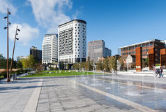 Città di Birmingham Fotografia Stock