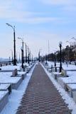 Città di Blagovešcensk Immagini Stock
