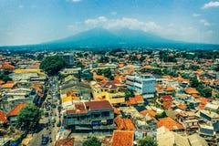 Città di Bogor immagini stock libere da diritti