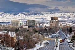 Città di Boise fotografia stock