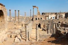 Città di Bosra Immagini Stock