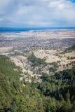 Città di Boulder fotografia stock libera da diritti