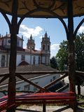 Città di Braga, Portogallo - un bello posto immagine stock libera da diritti