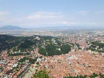 Città di Brasov immagine stock libera da diritti