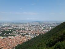 Città di Brasov Fotografia Stock