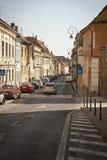Città di Brasov, Romania immagini stock