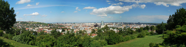 Città di Bratislava Fotografia Stock Libera da Diritti