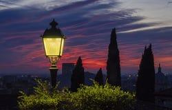 Città di Brescia fotografia stock